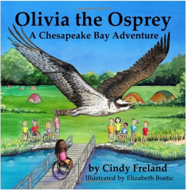 Olivia the Osprey Front Cover